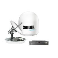 SAILOR 60 GX System - compact, highly efficient and reliable marine antenna